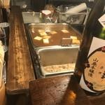 79909054 - 湯豆腐の鍋