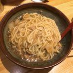 79909654 - 雷雷麺 混ぜ後