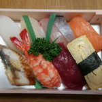 みゆき寿司 - 並にぎり 1,100円