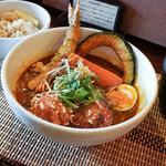 奥芝商店 - 料理写真:1月のスペシャルカレー田代城