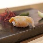 不動前 すし 岩澤 - 北海道産つぶ貝