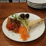 エキゾチカ - ちょい呑みセット、選べる前菜の1例