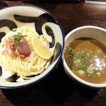九十九里煮干つけ麺 志奈田 - 淡麗汐煮干しつけ麺