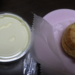 イル ビニェ - シュークリームとカスタードクリーム