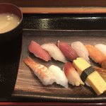 誠寿司 - おまかせ十二貫握り