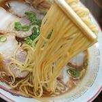 79918567 - 固めの細麺