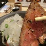 仙台牛一頭買い焼肉 明月苑 上杉店 - パストラミ風で美味