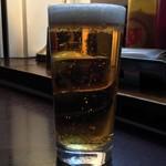 ファイヤーハウス - 「キリン一番絞り(生ビール)」560円