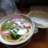 藪そば - 料理写真:「なべ焼うどん」650円