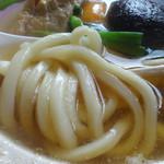 藪そば - 「なべ焼うどん」麺