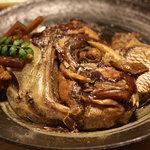 京屋 - 鯛のあら炊き