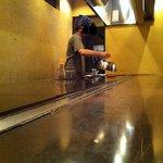 ひき焼き - ランチなのに鉄板でハンバーグをジュワ~♪