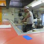 ラーメン二郎 - いつも笑顔の店主
