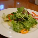 ミシェル - ◆ミニサラダ・・お野菜が高騰していますので、この量でも仕方ないでしょうね。