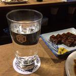 岸田屋 - 麦焼酎のお湯割り