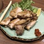 nurukansatouoosaka - 備中高原鶏の柚子塩焼き