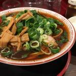 麺屋7.5Hz - 【再訪】中華そば(大)+ライス