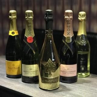 シャンパンメニュー