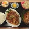 中華菜館 味味 - 料理写真:台湾風酢豚ランチ(夜は950円)