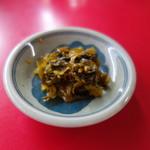 日和田製麺所 - セルフで無料のお新香