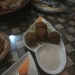アラビアレストラン ゼノビア - 麦のコロッケ