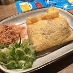 焼鳥日高 - 料理写真:納豆の袋揚げ190円