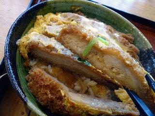 そば処 金の蕎麦 - かつ丼セット1180円税込