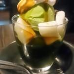 79932141 - 抹茶パフェ490円(税抜き)
