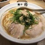 麺や佑 - 鶏魚豚らーめんd( ̄、  ̄)¥780円