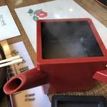 武蔵そば - 蕎麦湯は トロミが少ない
