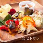 パスタファクトリー オルタッジョ - お得な本日の前菜盛り合わせ