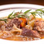 パスタファクトリー オルタッジョ - 牛バラ肉の特製赤ワイン煮込み リゾット添え