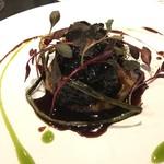 D'ORO HATSUDAI - 天草産イノシシの赤ワイン煮込み
