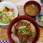 ローストビーフ丼いがらし -