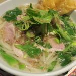 タイ田舎料理 クンヤー - クイティオ(豚で)
