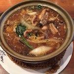 中国料理 仙ノ孫 - 広島産 牡蠣とエビの土鍋煮