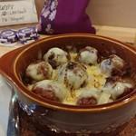 LBK CRAFT - ミートボール,チーズ焼き 僕はいつもコレだけでお腹膨れます♪