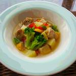 カフェ ルア ルア - 豚肉と野菜のポトフ