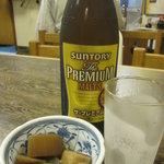 7994476 - プレミアムモルツセット(中瓶+天ぷら10品)