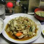 あつみ屋 - 料理写真:野菜炒め定食650円