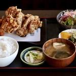 みふね - 料理写真:唐揚定食