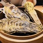 山の幸 三陸の恵み 六金 - 蒸し牡蠣1個(480円)