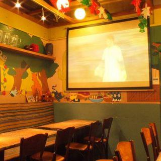 メキシコの雰囲気満点の店内でパーティー♪貸切は30名様まで