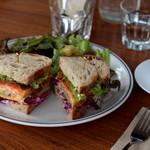 ブラックボード - サンドイッチ
