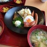 ジョイフル - 料理写真:幕内朝食 豚汁に変更
