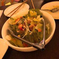 イタリアンダイニング マッシュルームプライム-シーフードイタリアンバジルサラダ 680円