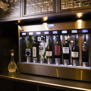 ワイン好き注目!グラスで楽しむエノマティックサーバー