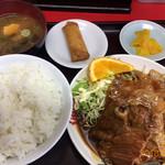 喜楽 - 料理写真:ランチのヤキニク定食