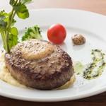サンジのおれ様レストラン - ハンバーグ\1500(税込)※パンorライスがセット