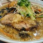 らー麺 あけどや - ちょっぴり大人の味噌ら~麺 850円 味玉 100円